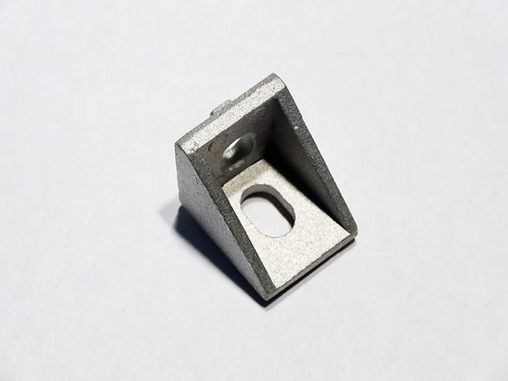 cast corner bracket 2020, 20mm x 20mm, 5.8mm x 8.8mm slots