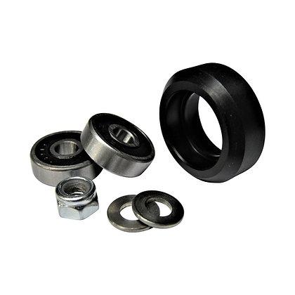 delrin solid V wheel kit