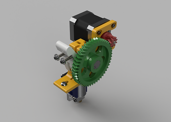 Marshall's Greg's Wade extruder Fusion 360 rendering