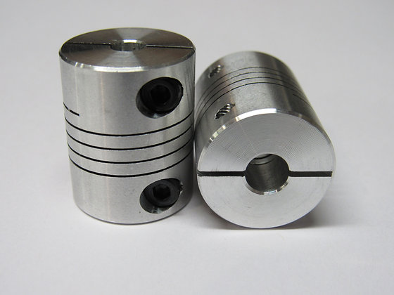 5mm x 6.35mm Flexible Couplers