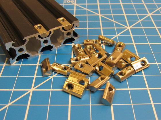M5 T-Nut Spring Loaded Roll / Drop in