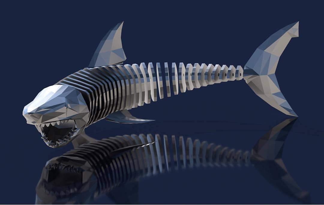 Articulating Shark