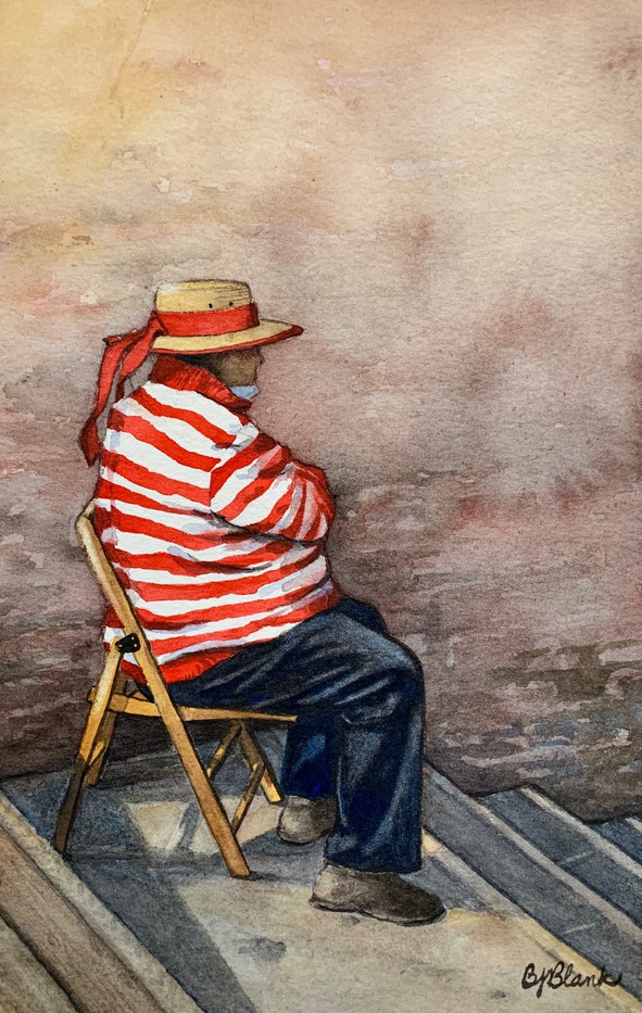 Waiting Gondolier _1