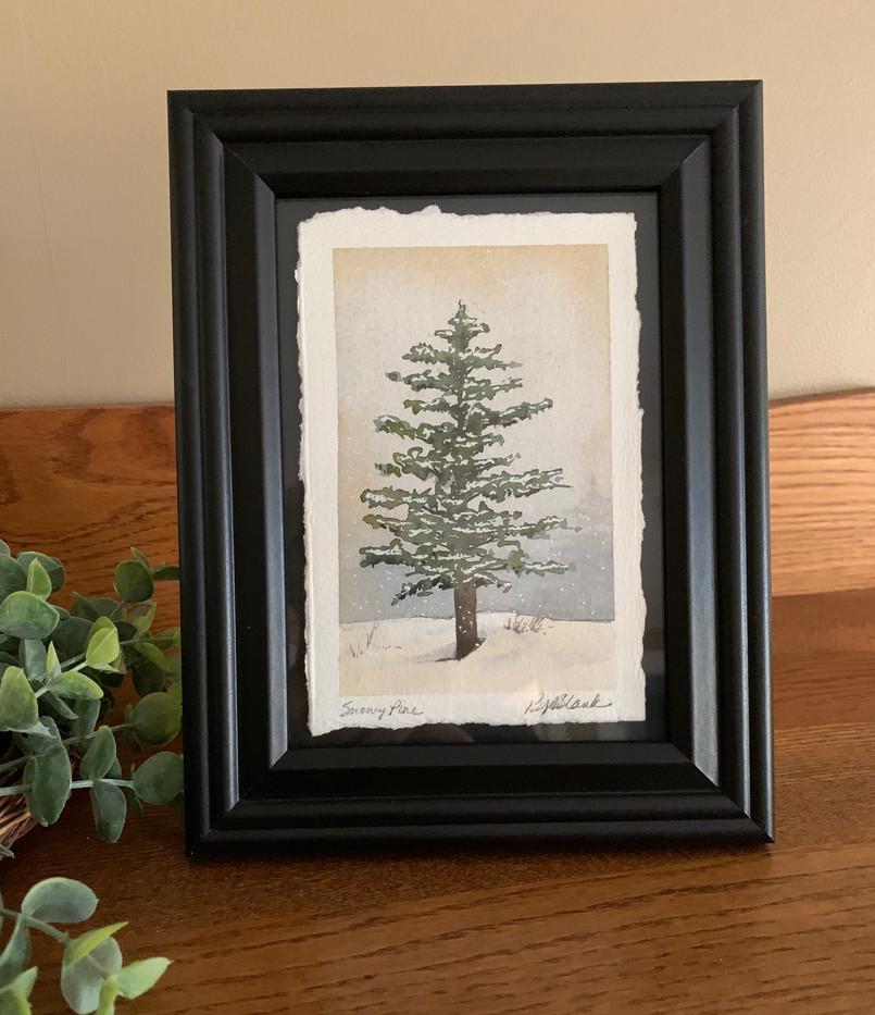 Snowy Pine_1