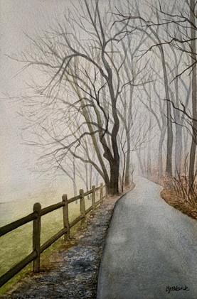 Misty Morning Walk_1