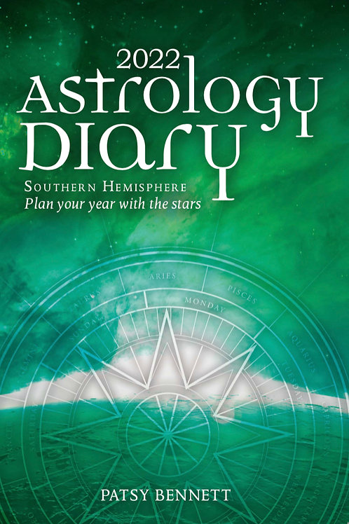 2022 Astrology Diary by Patsy Bennett