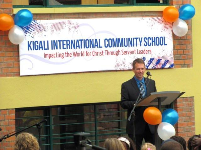 Bryan Speaking to KICS Students