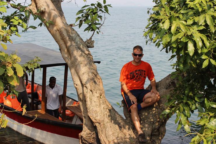 On Lake Kivu, Rwanda