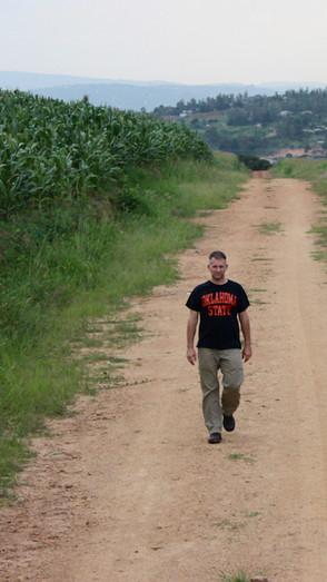 Bryan in Kibagabaga