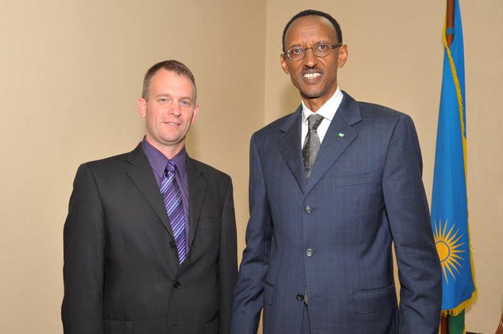 President of Rwanda, Paul Kagame