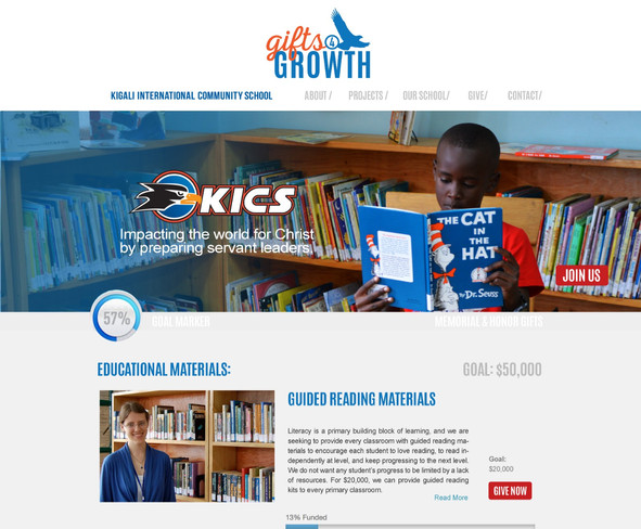 KICS Gifts for Growth