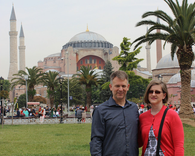 Bryan Holly in Istanbul