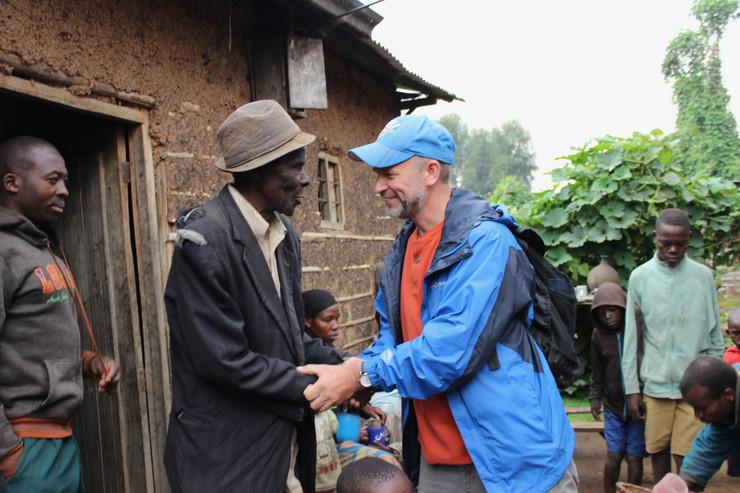 Greeting Village Elder