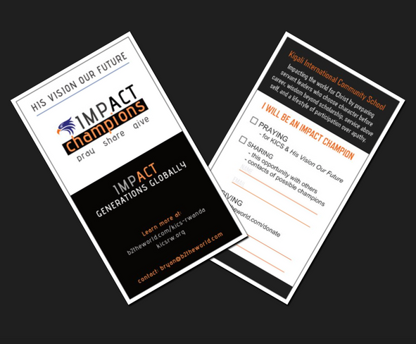 Donor Encouragement Cards