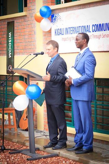 Presentation with Pastor Sandrali
