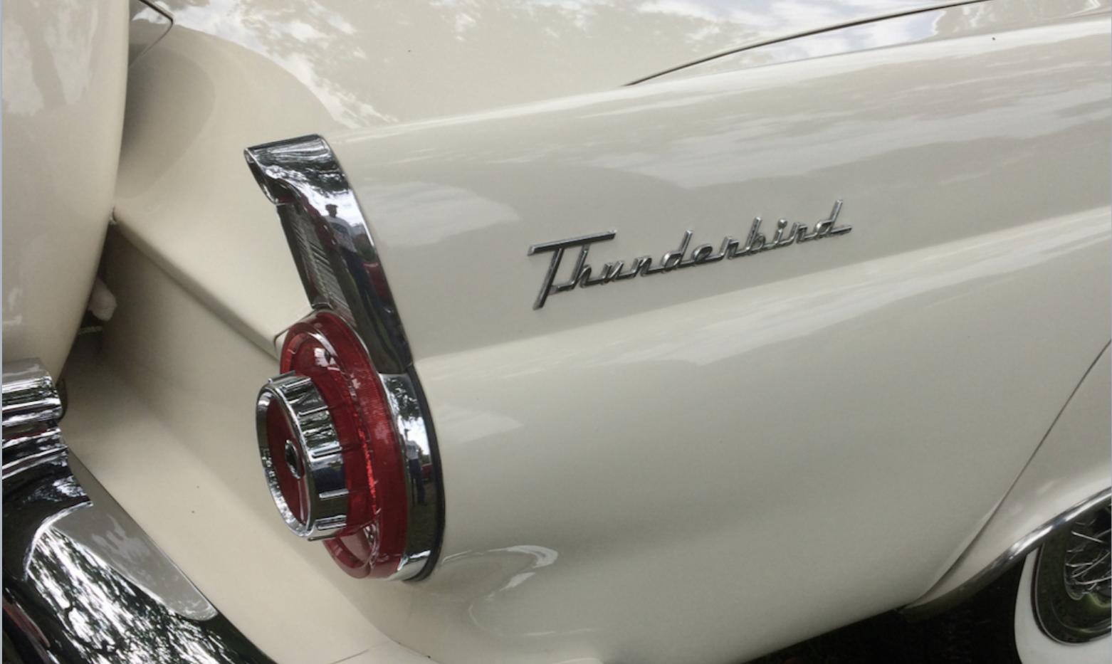 White Thunderbird