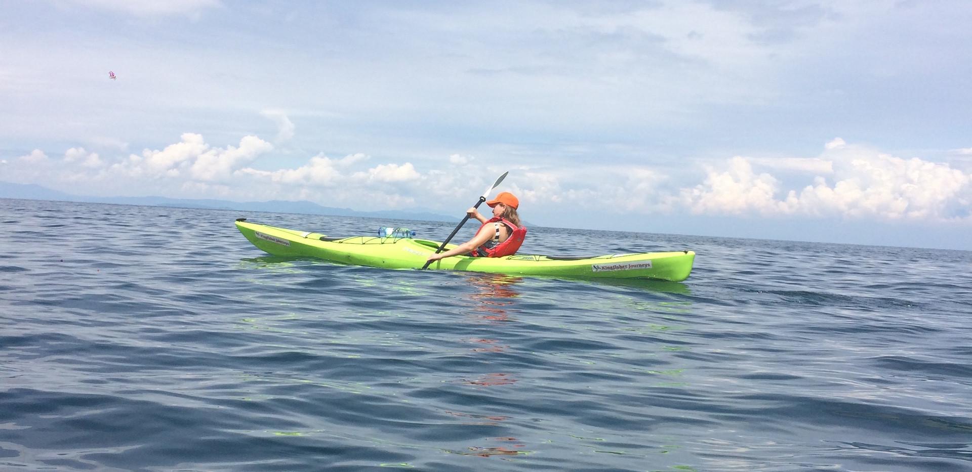 Kayak in Kivu