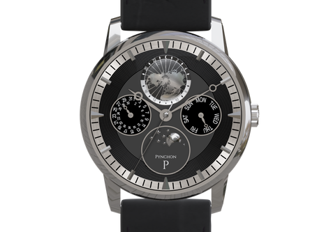 The first automatic watch movement by Pynchon Watches!