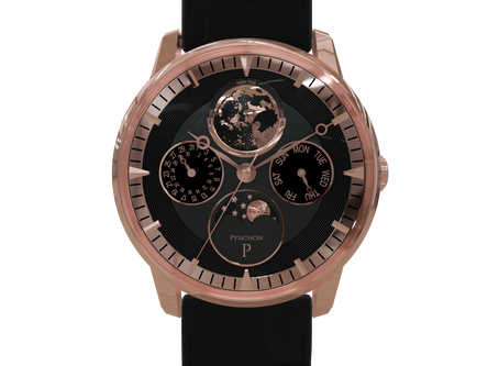 A timepiece for people who love sailing and sea voyages!