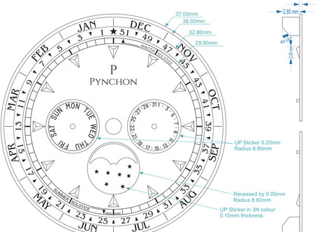 "Introducing The Negotium a so-called ""business calendar"" complication"