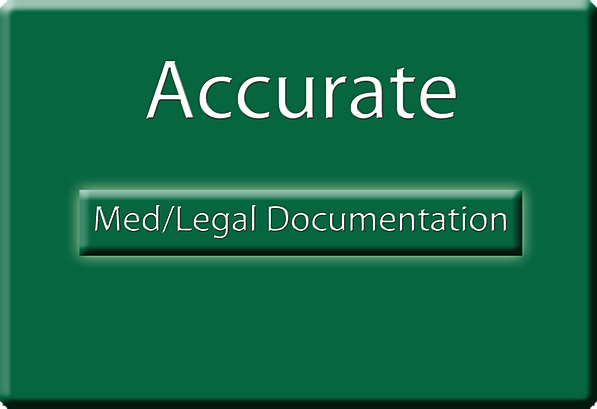 Importance of accurate documentation in personal injury cases  |Accurate Documentation