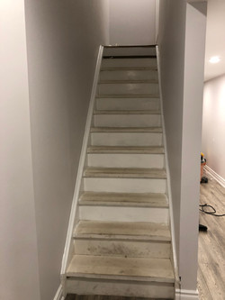 Stairs During Installation