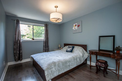 Blue Bedroom and Flooring