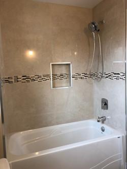Remodeled Washroom In  Oakville