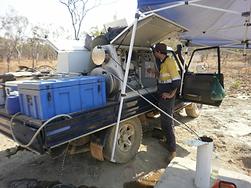 Groundwater sampling