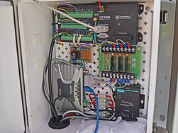 Monitoring station control system