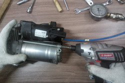 Ремонт компрессора пневмоподвески.