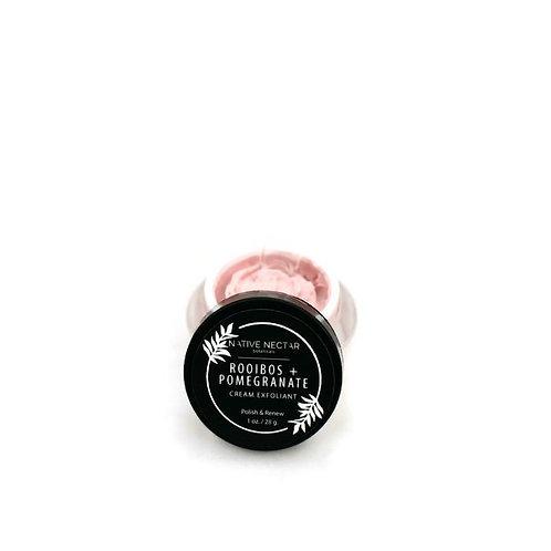 Rooibos + Pomegranate Cream Exfoliant