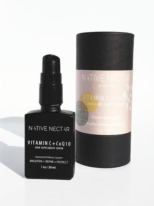 Vitamin C + CoQ10 Skin Supplement Serum