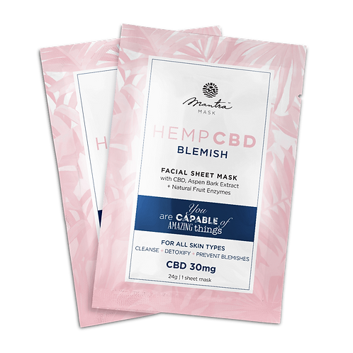 Blemish CBD Sheet Mask