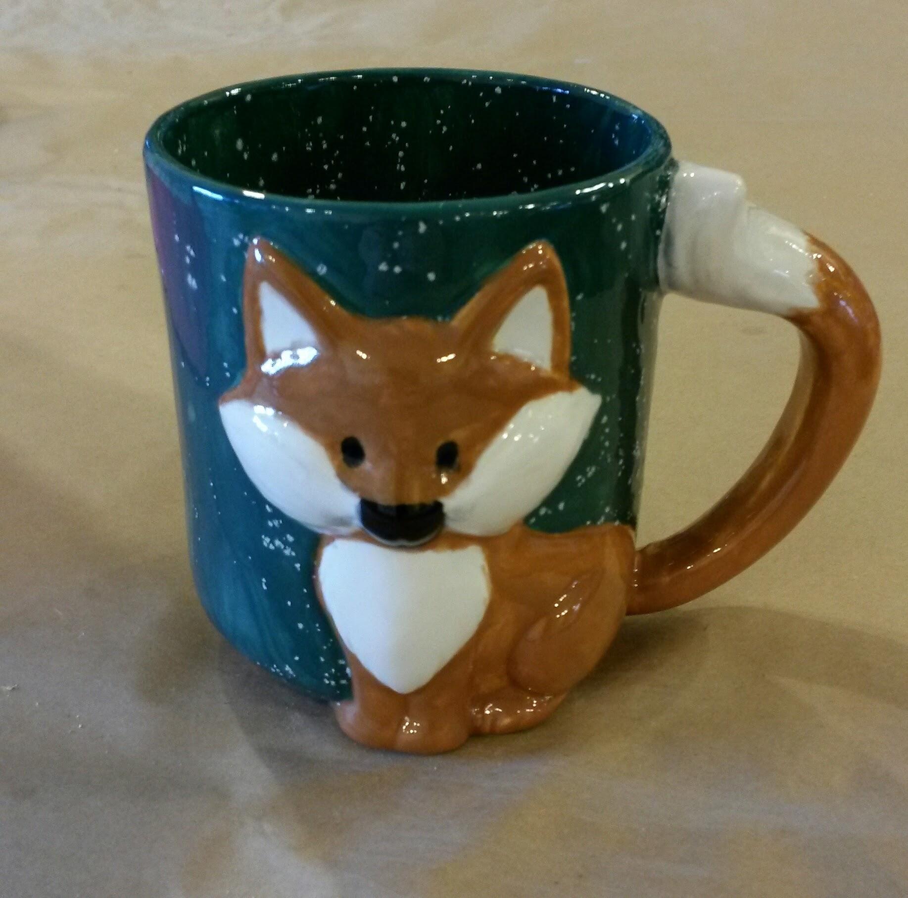Cute fox mug