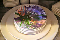Arts on Fire spin plate