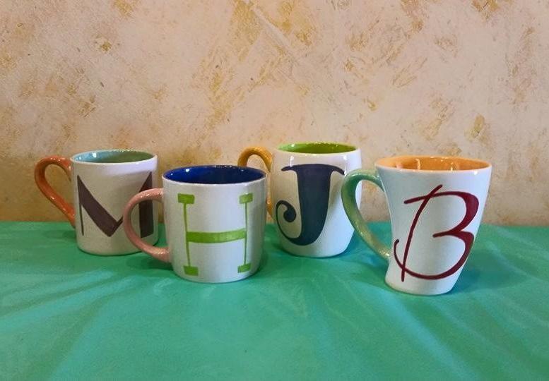 Initial Mugs