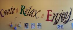 Creat, relax, enjoy!