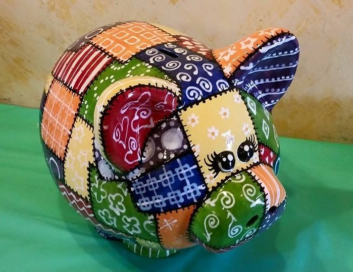 Patchwork piggy