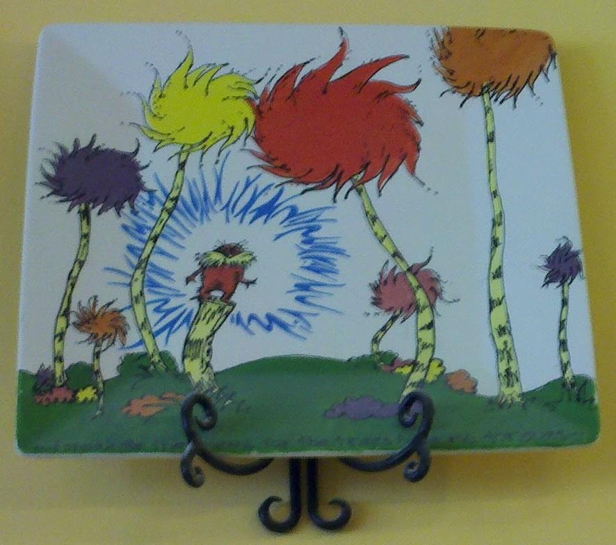 Lorax plate