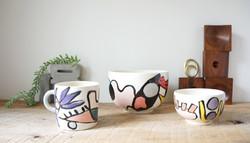 Mug and Bowls