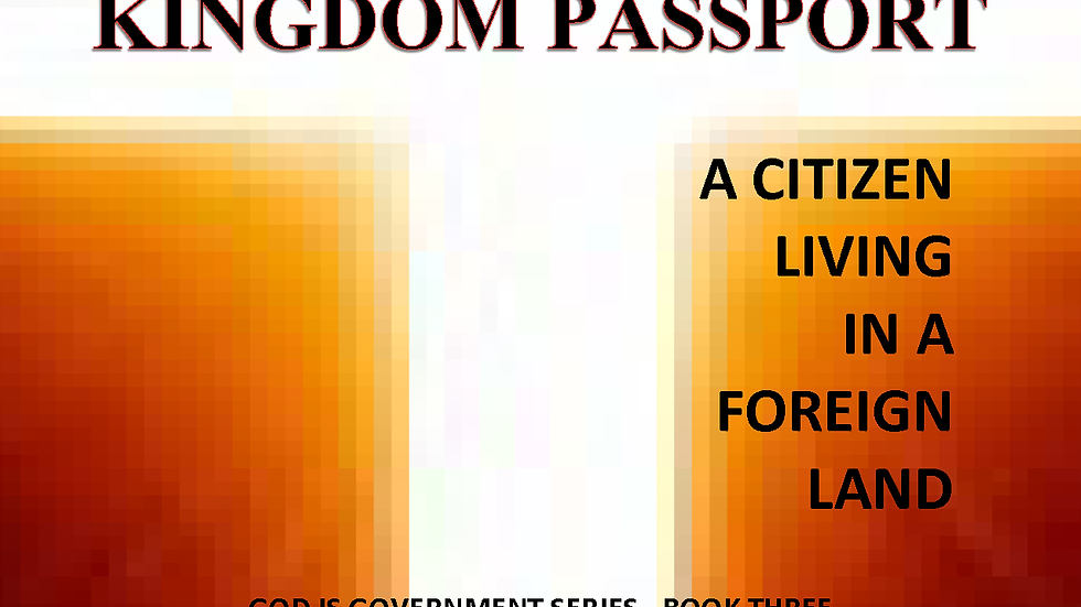 A CITIZEN LIVING IN A FOREIGN LAND - Soft Cover