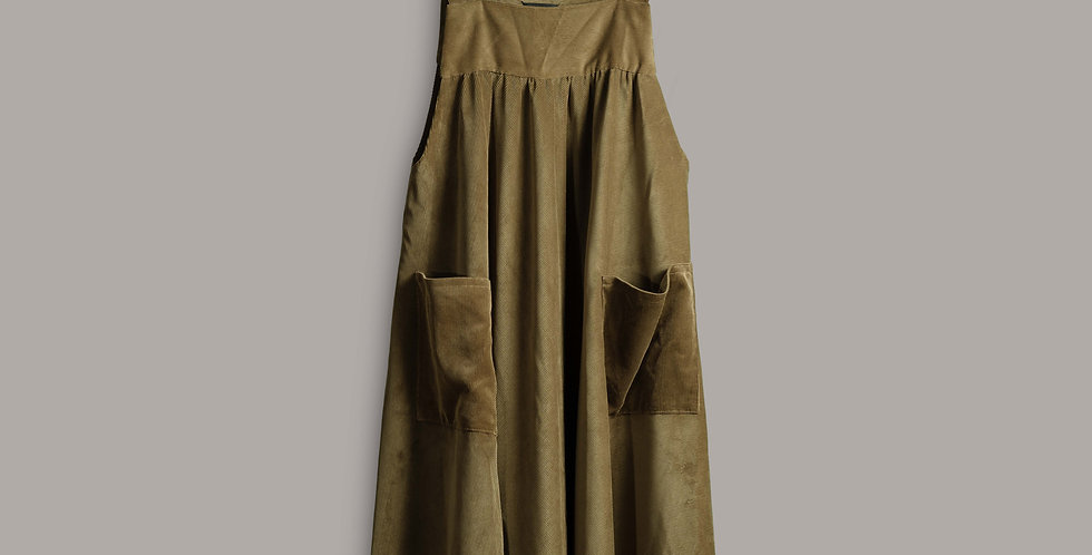 Moscow Pinafore Dress