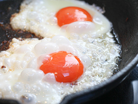 Don't mess up your egg pan!