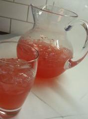 Raspberry Rhubarb Cordial