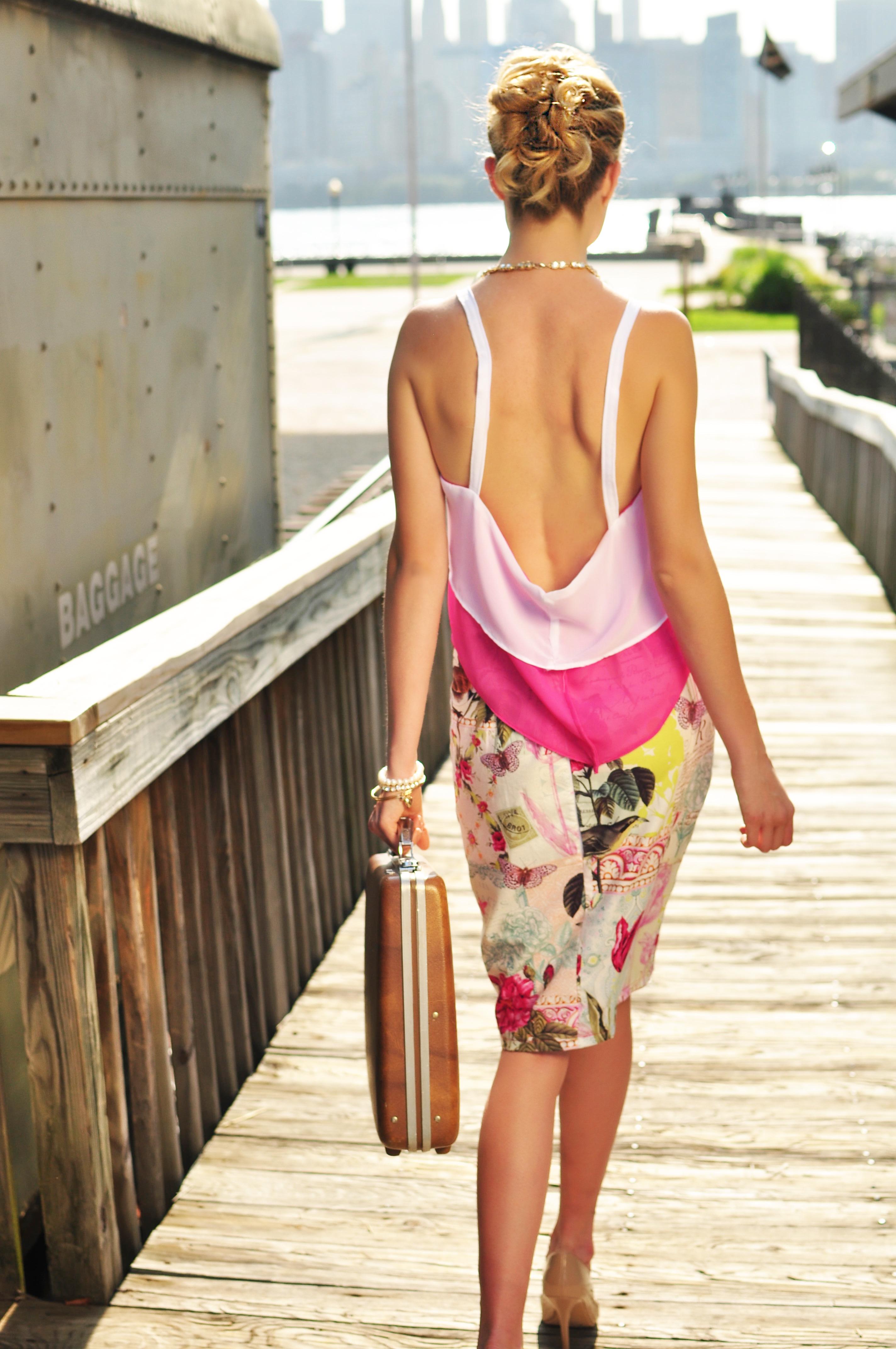 Lindsay Top w/ Leah Skirt