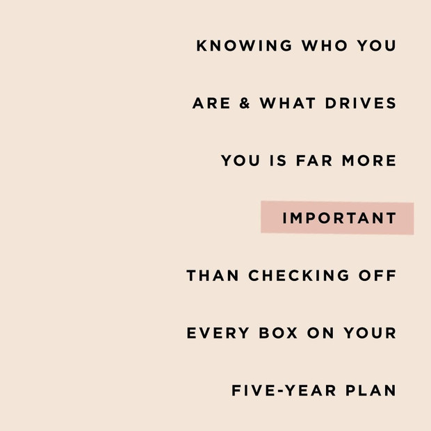 Motivational Copy / The Everygirl