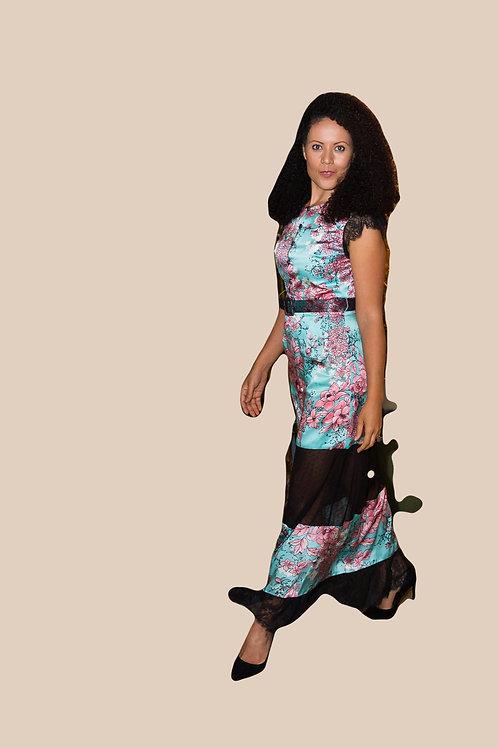 Asian Maxi Dress