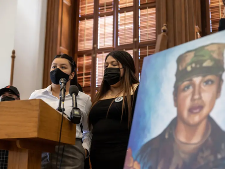 A year after Vanessa Guillén's death, lawmakers and advocates call for Congress to pass reform bill