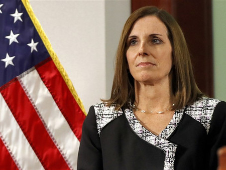 Sen. McSally, first female fighter pilot to fly in combat, reveals superior officer raped her